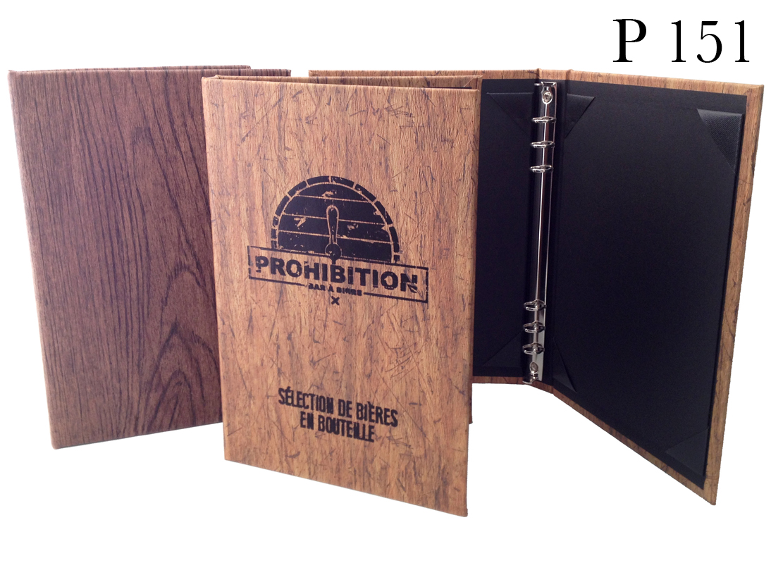 Prohibition Ring Binder inside